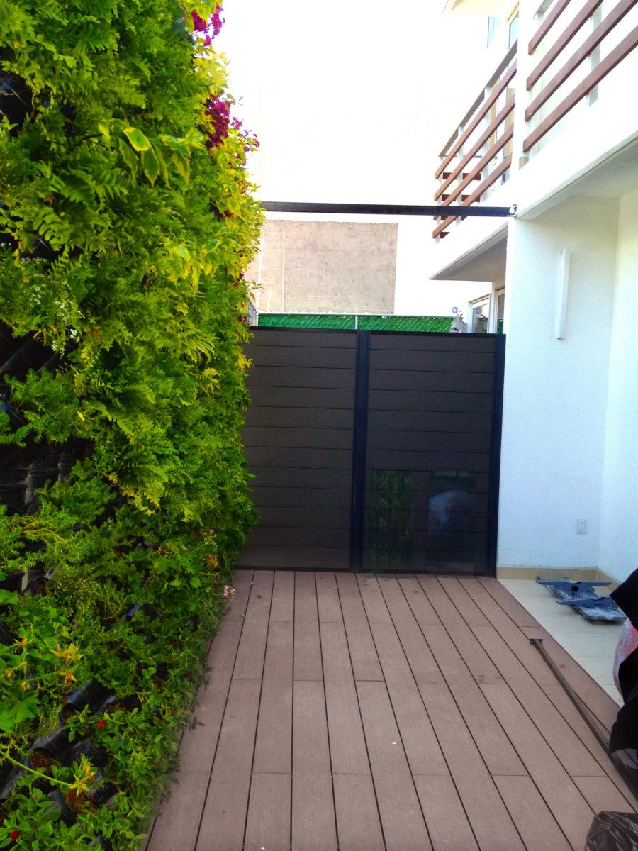 Muro verde residencial cdmx planta ox geno espacios con vida for Diseno de muros verdes