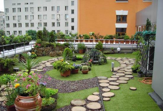 Planta ox geno azoteas verdes dise o e instalaci n planta oxigeno - Enchanting rooftop garden ideas ...