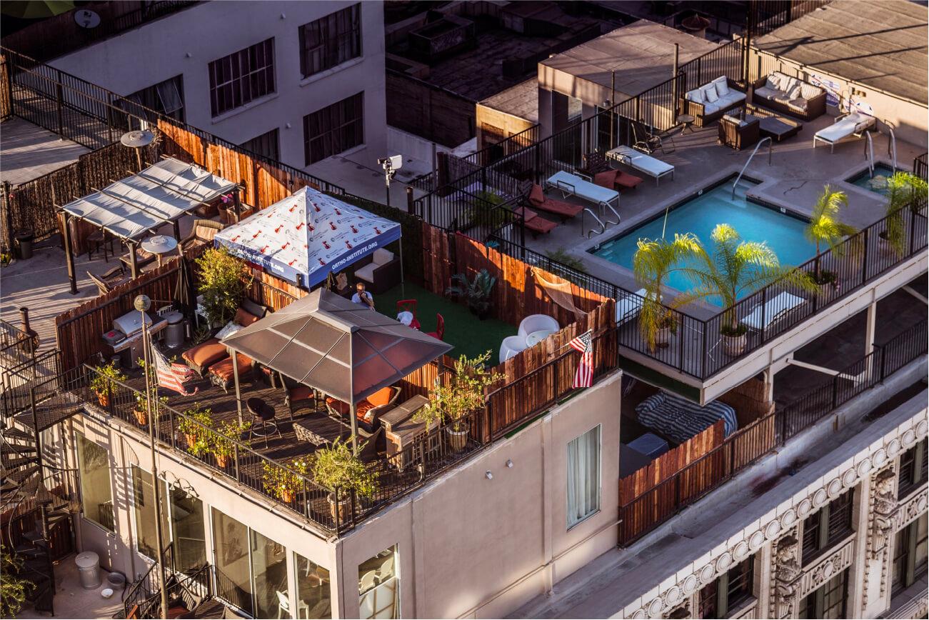 Roof garden diseño